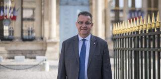 Alain Ramadier, député de la Seine-Saint-Denis, à l'Assemblée Nationale