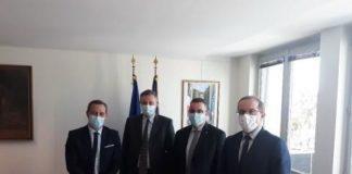 Réunion avec Adrien TAQUET, Secrétaire d'Etat auprès du Ministre des Solidarités, de la Santé, chargé de l'Enfance et des Familles